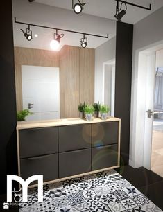 Projekt domu jednorodzinnego okolice Ostrołęki - Hol / przedpokój, styl nowoczesny - zdjęcie od Mart-Design Architektura Wnętrz