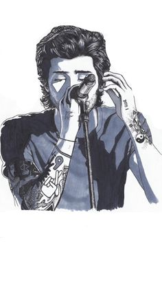 Zayn Zayn Mallik, Zayn Malik Photos, One Direction Zayn Malik, Direction Quotes, Niall Horan, Cartoon Sketches, Cool Sketches, Zayn Malik Drawing, Desenhos One Direction