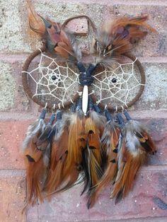 Owl Dream Catcher by MysticSirens on Etsy