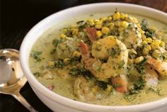 Shrimp & Sweet Corn Curry