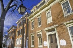 Historical town of #NewCastle, #Delaware