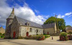 Eglise de Le Guerno dans le Morbihan (Bretagne)