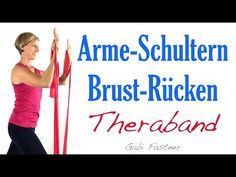🚩 defined arms and shoulders, firm chest and strong back - Abs Workout Arm Workout With Bands, Band Workout, Workout Guide, Fitness Workouts, Yoga Fitness, Pilates Workout Routine, Best Resistance Bands, Resistance Band Exercises, Strong Back