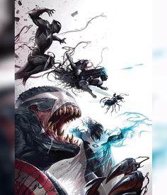 Good God this is amazing!! VENOMVERSE: WAR STORIES 1 Cover by FRANCESCO MATTINA VARIANT Download images at nomoremutants-com.tumblr.com Key Film Dates Spider-Man - Homecoming: Jul 7 2017 Thor: Ragnarok: Nov 3 2017 Black Panther: Feb 16 2018 New Mutants: Apr 13 2018 The Avengers: Infinity War: May 4 2018 Deadpool 2: Jun 1 2018 Ant-Man & The Wasp: Jul 6 2018 Venom : Oct 5 2018 X-men Dark Phoenix : Nov 2 2018 Captain Marvel: Mar 8 2019 The Avengers 4: May 3 2019 #marvelcomics #Comics #marvel…
