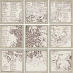 City Of Rome, Set of 9 by Paragon