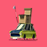 Car designs by Ido Yehimovitz Car Illustration, Illustrations, Prop Design, Prop Styling, Mini S, Environment Design, Cultura Pop, Cartoon Styles, Logo Inspiration