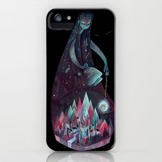 Night Time. iPhone & iPod Case by Karl James Mountford - $35.00