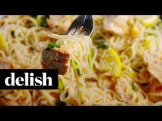 Best Lemon Butter Chicken Pasta Recipe - How to Make Lemon Butter Chicken Pasta