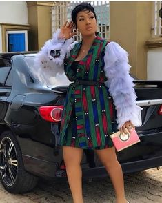 Amazing Ankara short gowns styles and designs.as though you think the Ankara designs seem quite some nutty creatives you will love to make a game-change Ankara Short Gown Styles, Latest Ankara Styles, Short Gowns, Ankara Dress, Ankara Fabric, African Jumpsuit, African Dress, Beautiful Ankara Gowns, Off Shoulder Gown
