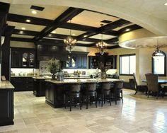 Double kitchen island new-house-ideas