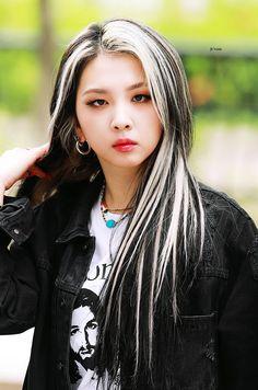 Hair Color Streaks, Hair Highlights, Pretty Hairstyles, Girl Hairstyles, Hair Inspo, Hair Inspiration, Kpop Hair Color, Cute Hair Colors, Dye My Hair
