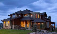 Craftsman House Plan Front of Home for Home Plan also known as the Kemper Hill Mountain Home from House Plans and More. House Plans And More, Luxury House Plans, House Floor Plans, Mountain House Plans, Mountain Homes, Mountain Man, Craftsman House Plans, House Goals, My Dream Home