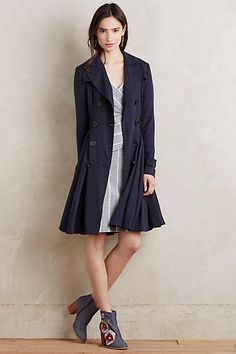 Fayette Trench - anthropologie.com