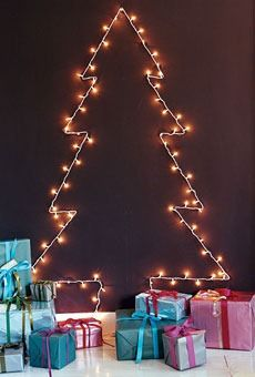 Can't wait for Christmas decorations! Such a great idea for an apartment/dorm room!