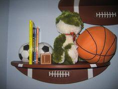 Ideas baby boy nursery sports shelves for 2019 Baby Boy Nursery Themes, Baby Boy Rooms, Baby Boy Nurseries, Baby Decor, Nursery Ideas, Newborn Boy Clothes, Trendy Baby Girl Clothes, Baby Girl Birthday Decorations, Football Nursery