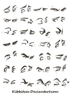 Anatomy Drawing Eyes Reference Sheet by Kibbitzer - Realistic Eye Drawing, Drawing Eyes, Anatomy Drawing, Manga Drawing, Figure Drawing, Drawing Sketches, Drawing Fist, Drawing Feelings, Drawing Hair