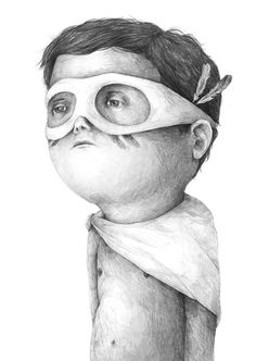 Drawings 2013 part 3 by Stefan Zsaitsits, via Behance