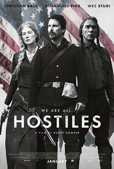 Watch Hostiles, an adventure movie directed by Scott Cooper. In 1892, an incredible Army skipper who promises to go with a withering War Chief Cheyenne and his family back to the inborn grounds. Get full popcorn movie online without any registration.