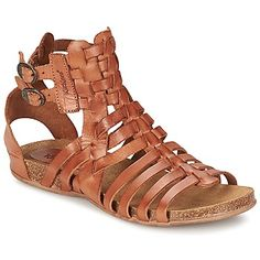 NEW ARRIVALS: Leather gladiator sandals with ankle straps by Kickers, trendy for summer @spartoouk