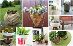 DIY rope planters can be great addition to your outdoor space, but also they can be part of your home decor.Check out the ideas that we have chosen for you.