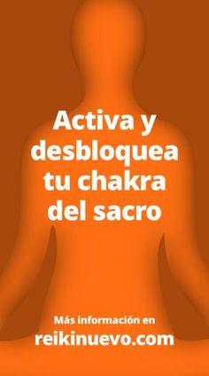 Meditación para activar y desbloquear el chakra del sacro. La meditación guiada que compartimos hoy es un audio de nuestro amigo Maestro de Luz, con esta meditación con afirmaciones podrás activar y desbloquear tu chakra del sacro o Svadhisthana. Escúchala en: http://www.reikinuevo.com/meditacion-activar-desbloquear-chakra-sacro/