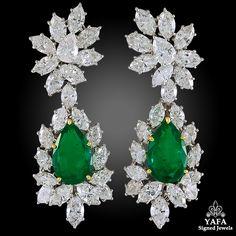 2b95c0133cbaaa Harry Winston Archives - Yafa Signed Jewels. Diamond Chandelier  EarringsEmerald ...