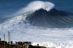 Nazaré Challenge 2016 gets green light - via Surfer Today 19-12-2016 | The Nazaré Challenge is the first ever event run by World Surf League (WSL) in the Portuguese fishing town. Praia do Norte holds the Guinness World Record for the largest wave surfed (78 feet) set by Garrett McNamara on November 1, 2011. Photo: Praia do Norte, Nazaré: Portugal's best big wave surf break