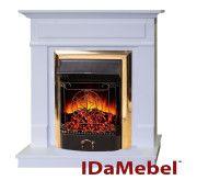 Портал для электрокамина Каминокомплект IdaMebel Michelle Gold