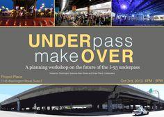 UnderPass Make Over - Purple Line Idea Continued minus transit