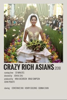 Alternative Minimalist Movie/Show Polaroid Poster – Crazy Rich Asians - Modern Iconic Movie Posters, Minimal Movie Posters, Cinema Posters, Iconic Movies, Music Posters, Movie Collage, Poster Collage, Film Poster Design, Movie Prints