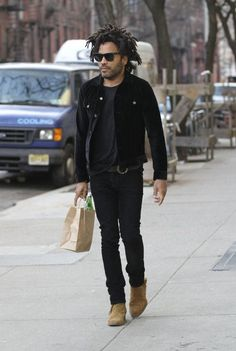 Lenny Kravitz out in NYC 2/23/17