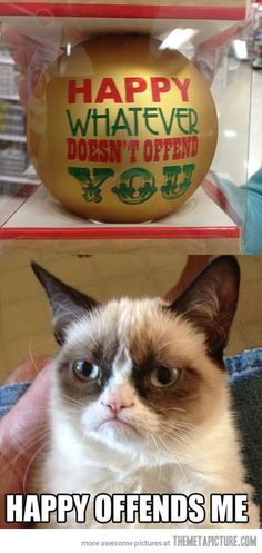 hahaha!!! --- Grumpy Cat is most definitely a work of the Devil.