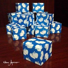 Embalagem :: caixas decoradas