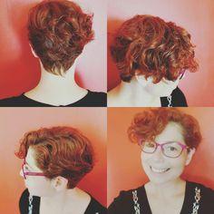 Corte de pelo corto crespo
