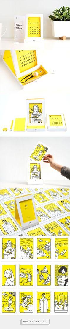 2016 cashslide dual calendar on Behance - created on Japan Design, Web Design, Book Design, Layout Design, Creative Design, Poster Design, Graphic Design Branding, Corporate Design, Packaging Design