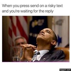 When you press send on a risky text and you're waiting for the reply Text Memes, Fb Memes, Crush Memes, Crush Quotes, Funny Qoutes, Funny Memes, Funny Pics, Funny Stuff