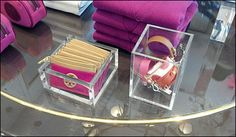 Tory Burch Trays a Matched Pair
