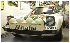 Lancia Strato's Replica Rebuild - vincesgallery First Car, Rally Car, Concept Cars, Subaru, Super Cars, Retro, Sport, Vehicles, Cars