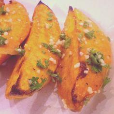Cuban-Style Oven Roasted Sweet Potatoes.