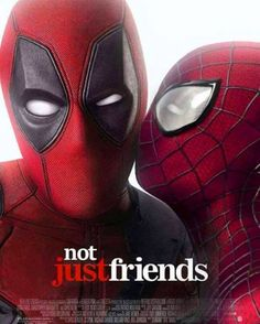 Deadpool and Spider-Man - Visit to grab an amazing super hero shirt now on sale!