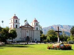 Santa Barbara Mission, Santa Barbara, California