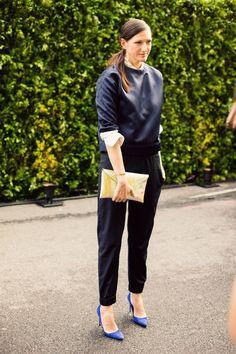 Jenna Lyons at the 2013 #CFDAawards