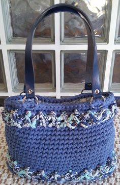 Shopping bag Mara. Uncinetto. Crochet.