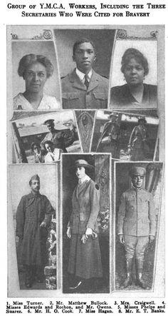 ADDIE HUNTON ON THE WORK OF BLACK YMCA WORKERS IN WWI
