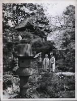 1959 Press Photo Japanese Tea Garden at San Francisco's Golden Gate Park