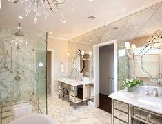 Banheiro - espelho veneziano