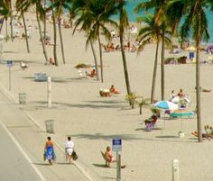 8 free things to do in Ft. Lauderdale. Super nice place to cycle along, jog or walk on the boardwalk.