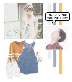 """Kim Jong In"" by lazy-alien ❤ liked on Polyvore featuring Alexander McQueen, EXO, exok, kai and kimjongin"