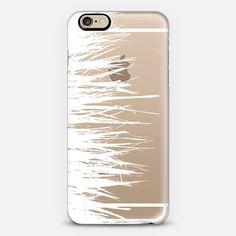 Concrete Fringe White Side Transparent - New Standard Case