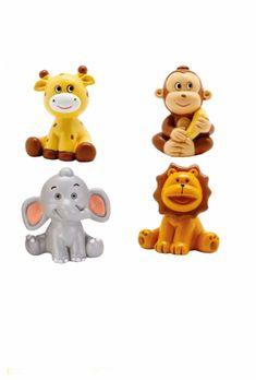 Figurine safari pour une décoration de baptême ou anniversaire sur le thème safari, jungle ou cirque. Decoration Cirque, Decoration Table, Theme Bapteme, Winnie The Pooh, Disney Characters, Fictional Characters, Joy, Safari Jungle, Comme